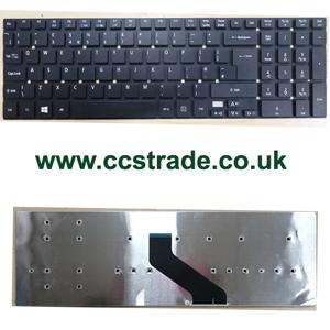 b46bea6fe7c Acer Aspire E5-511 E5-521 E5-551 E5-571 E5-572 Series laptop UK Keyboard New
