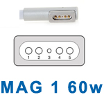 APPLE REPLACEMENT MAG 1 60W CHARGER