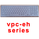 SONY LAPTOP KEYBOARD VPC-EH UK WHITE