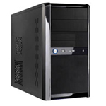 CASE Templar Micro ATX Black Interior Mesh 500W 120mm Black PSU