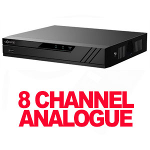CCTV DVR 8 CHANNEL 5MP ANALOGUE