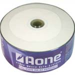 AONE CD-R 52x  25 PCS / PRINTABLE