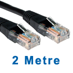 CAT5e NETWORK CABLE 2M