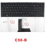 TOSHIBA LAPTOP KEYBOARD C50-B BLK UK