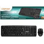 COMPOINT CP-KM007-W WIRELESS KEYBOARD AND MOUSE SET