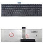 TOSHIBA LAPTOP KEYBOARD L50 BLACK