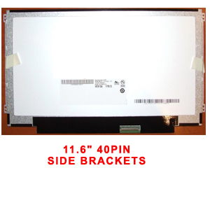 "11.6"" SCREEN RAZOR 40PIN SIDE BRACKETS"