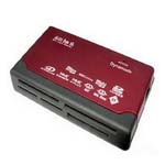 Dynamode  External Multi Card Reader, 6 Slot, USB Powered