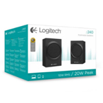 LOGITECH Z240 2.0 SPEAKERS 20WATT 3.5MM