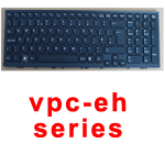 SONY LAPTOP KEYBOARD VPC-EH UK BLACK