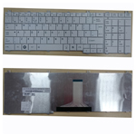 TOSHIBA SATELLITE C660 C660D C650 C655 L660 L675 UK LAPTOP KEYBOARD WHITE