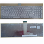 TOSHIBA SATELLITE PRO C850 C855 C850D C870 L850 L855 UK KEYBOARD WHITE FRAME