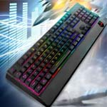 Sumvision sonic wave hybid gaming led keyboard
