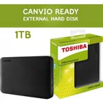 1TB Toshiba Canvio Basics Portable Hard Drive