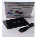 2.5 SATA HDD ENCLOSURE USB 3.0 BLUE