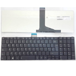 TOSHIBA SATELLITE PRO C850 C855 C850D C870 L850 L855 UK KEYBOARD BLACK FRAME