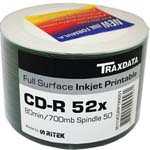 TRAXDATA PRINTABLE 52X CD-R