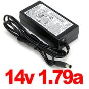 samsung 14v 1.79a lcd monitor charger 25w