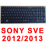 SONY LAPTOP KEYBOARD SVE15 BLACK UK