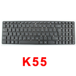 ASUS K55 K55A K55DE K55DR K55N K55VD K55VJ K55VM K55VS KEYBOARD UK LAYOUT